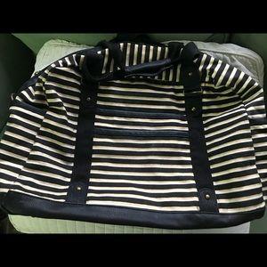 ▪️Large Striped Shoulder Bag ▪️